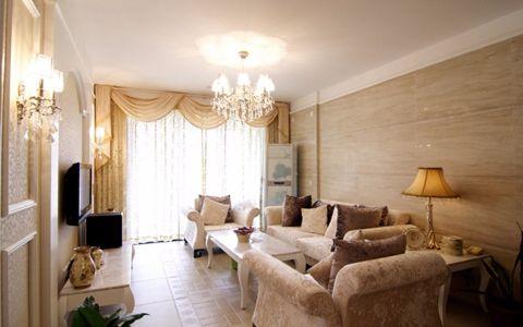 欧式风格136平米3房2厅房子装饰效果图