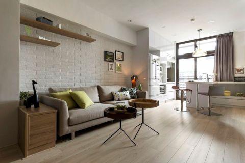 110平米北欧风格小公寓设计案例