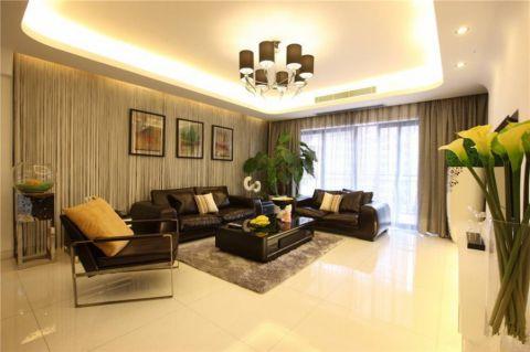 现代风格166平米四室两厅室内装修效果图