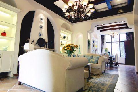 美式风格150平米套房房子装饰效果图
