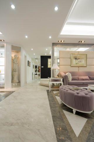 客厅走廊欧式风格装修效果图