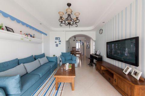 地中海风格160平米大户型房子装修效果图
