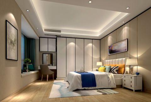卧室吊顶新中式风格装潢图片
