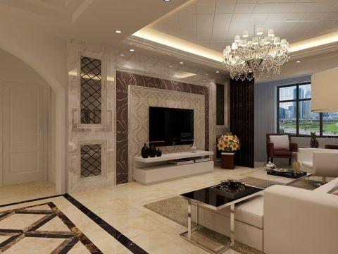 现代风格190平米四房两厅新房装修效果图