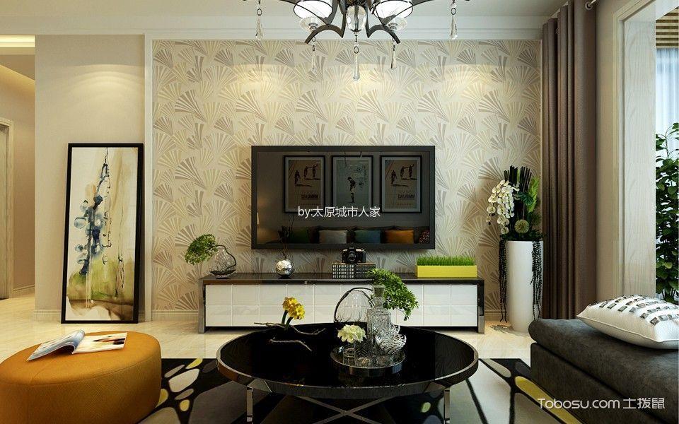 玻璃厂两居室现代简约风格效果图装修设计