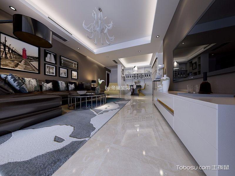 2021后现代150平米效果图 2021后现代二居室装修设计