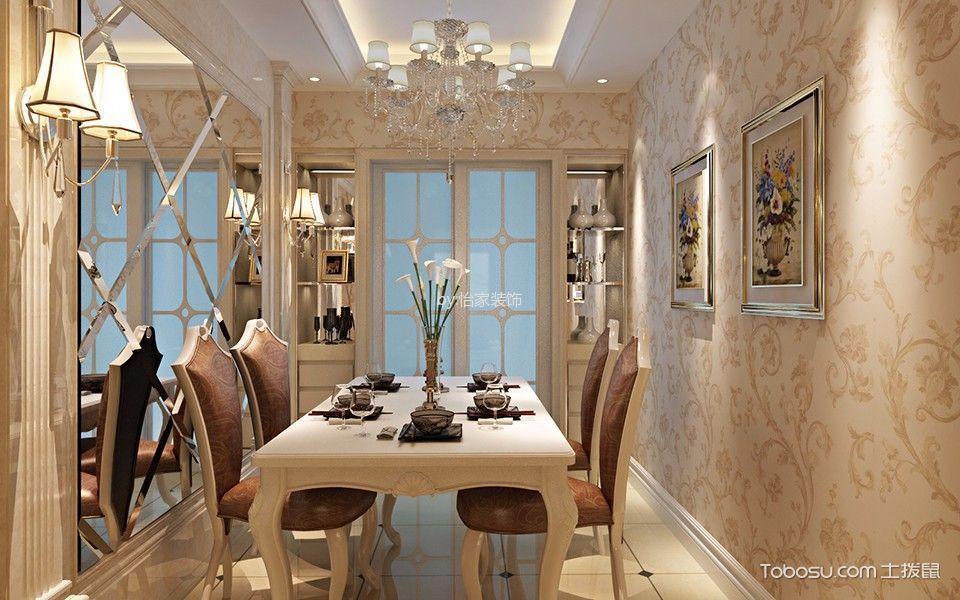 简欧风格100平米复式房子装饰效果图