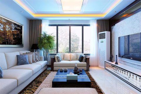 现代风格165平米复式房子装饰效果图