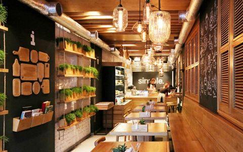 现代风格咖啡厅装修效果图