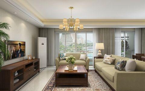 美式风格300平米大户型室内装修效果图