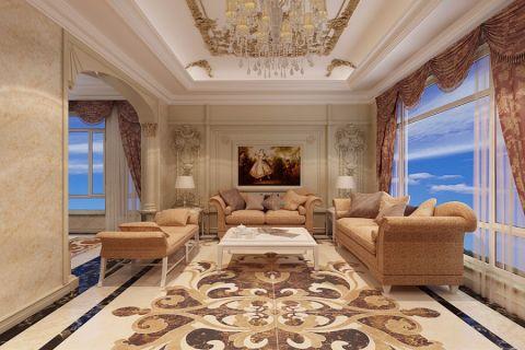欧式风格350平米别墅房子装饰效果图