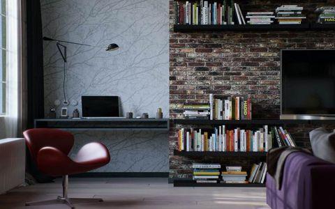 后现代风格120平米大户型室内装修效果图