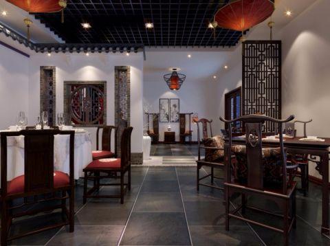 东明路中式餐厅装修效果图