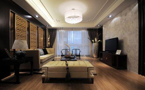 中式风格275平米大户型新房装修效果图