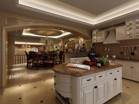 厨房吊顶欧式风格效果图