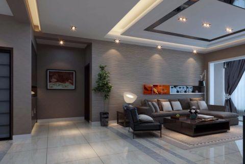 现代风格180平米楼房室内装修效果图