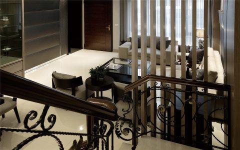 客厅楼梯现代简约风格效果图