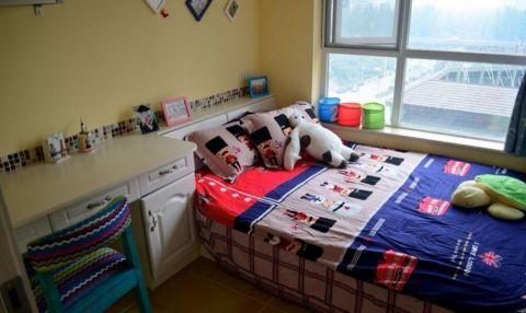 儿童房窗台混搭风格装潢效果图