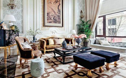 法式风格180平米大户型房子装饰效果图
