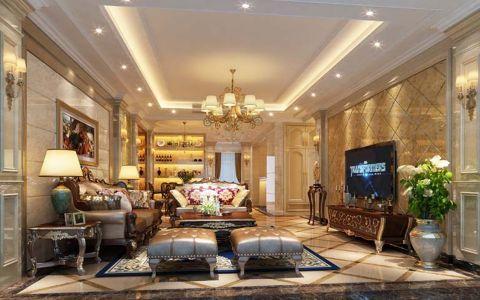 欧式风格170平米大户型室内装修效果图