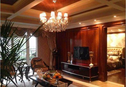 欧式风格150平米四室两厅室内装修效果图