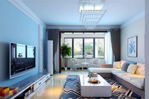 简约风格137平米3房2厅房子装饰效果图