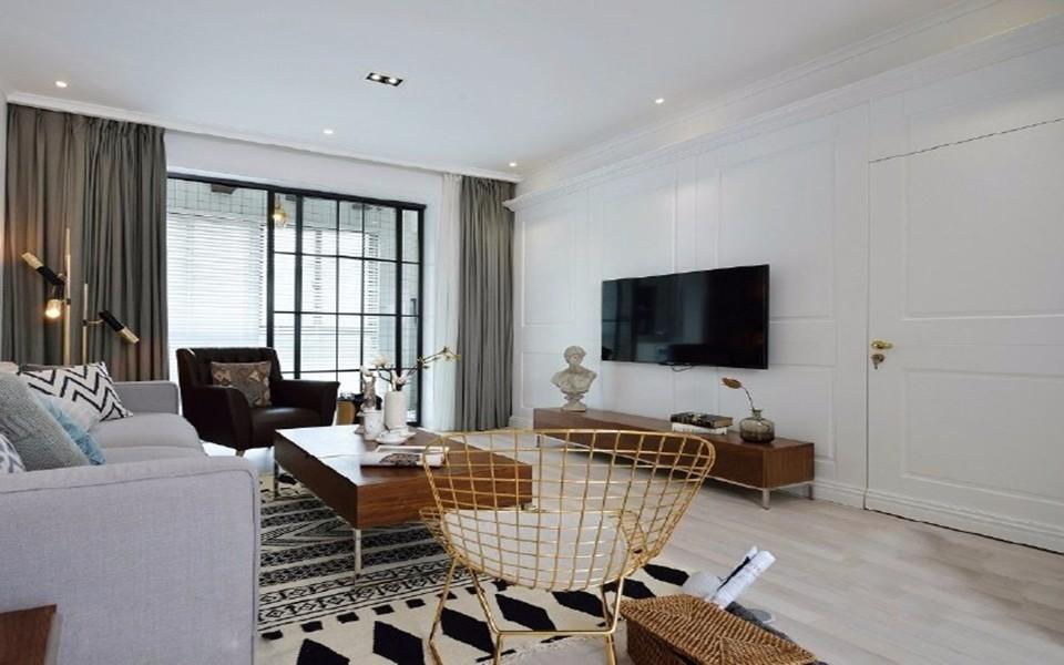 3室1卫1厅109平米北欧风格