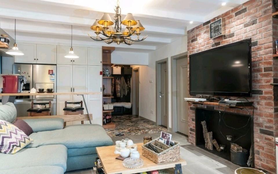 2室1卫1厅83平米美式风格