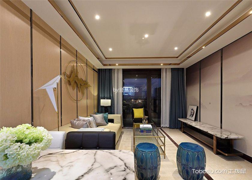 现代简约风格99平米3房2厅房子装饰效果图