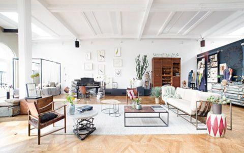 后现代风格172平米大户型新房装修效果图
