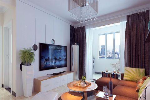 现代简约风格90平米楼房新房装修效果图