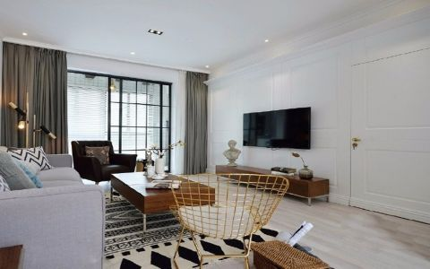 北欧风格72平米套房新房装修效果图