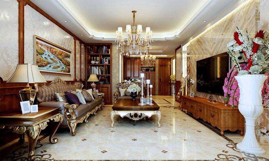 3室1卫2厅150平米欧式风格