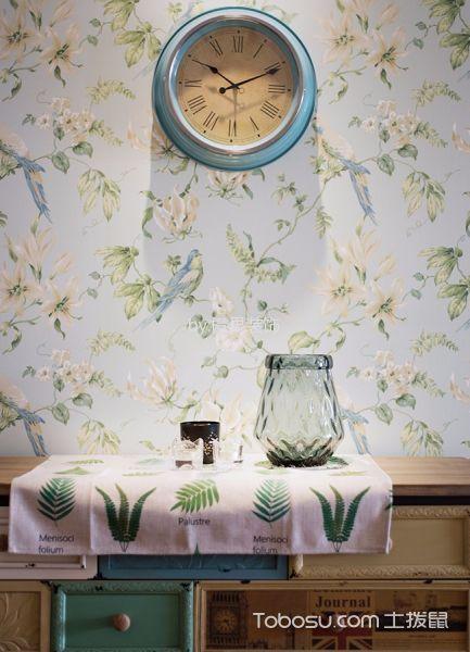餐厅彩色细节美式风格装修设计图片