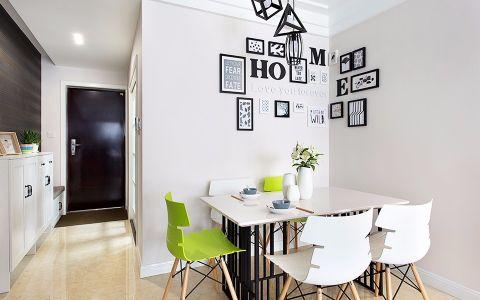 餐厅照片墙混搭风格装修设计图片