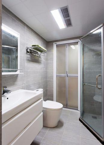 卫生间吊顶混搭风格装潢设计图片