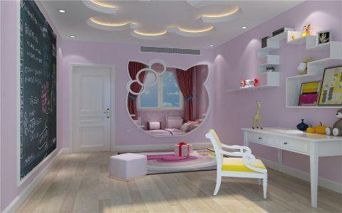 儿童房吊顶简欧风格装饰设计图片