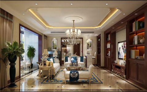 简欧风格160平米跃层新房装修效果图