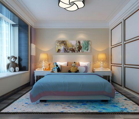 卧室飘窗现代简约风格装潢图片