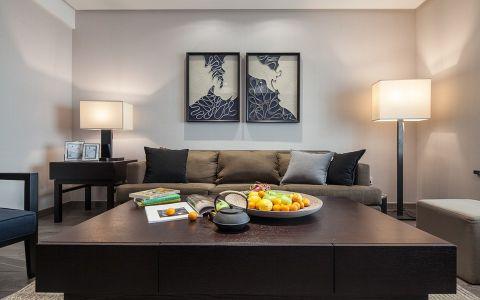 嘉宏云顶现代中式风格三居室装修效果图