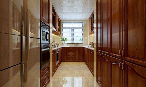 厨房欧式风格装潢效果图