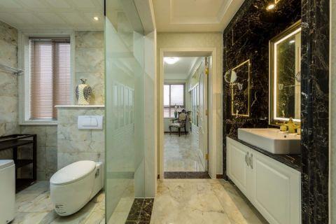 卫生间隔断新古典风格装修图片