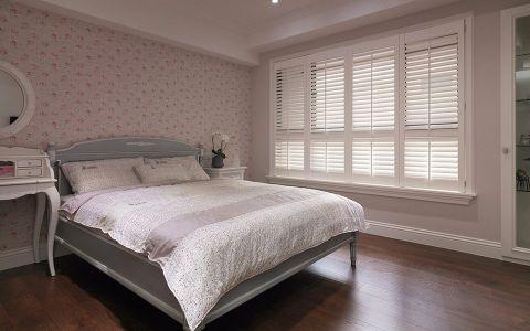 卧室窗帘田园风格装饰设计图片