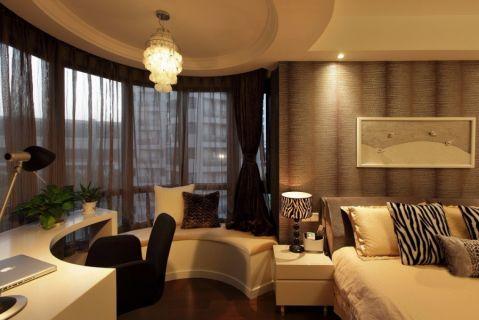 卧室飘窗简约风格装饰效果图