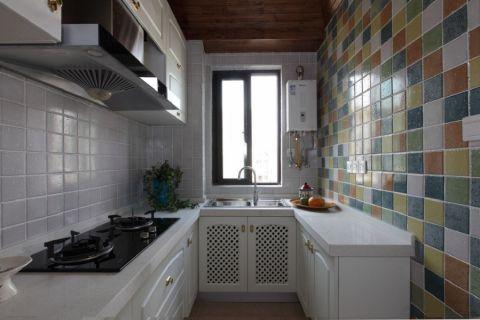 地中海风格110平米套房室内装修效果图