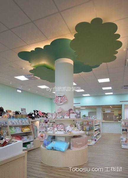 母婴店吊顶装潢实景图