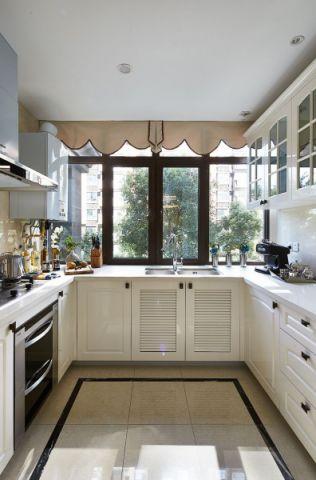 厨房橱柜新古典风格装修图片