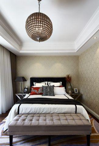 卧室吊顶新古典风格装饰设计图片