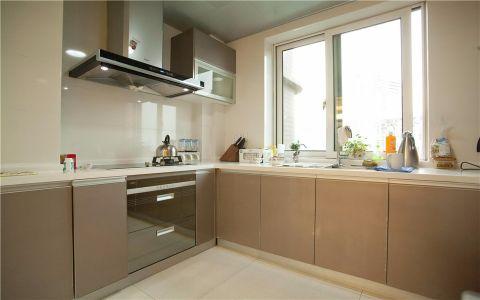 厨房窗台现代简约风格装潢图片