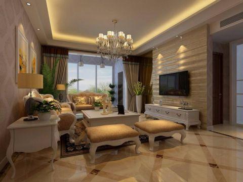 欧式风格180平米大户型新房装修效果图